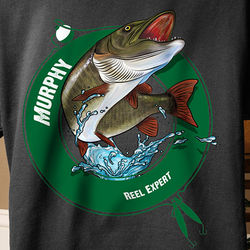Personalized Fisherman T-Shirt
