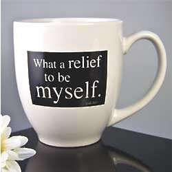 What a Relief Coffee Mug