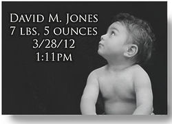 Personalized Glass Photo Plate of Baby or Child