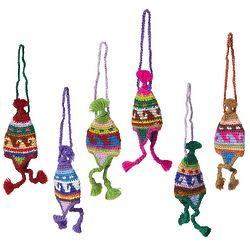 Peruvian Knit Hat Ornaments