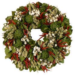 "Herb Pesto 18"" Wreath"