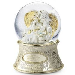 Angel of the Garden Snow Globe