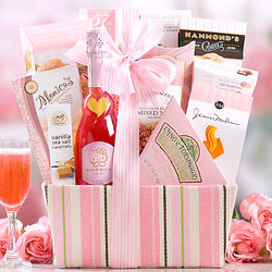 Gourmet Favorites with Hello Kitty Sweet Pink Wine