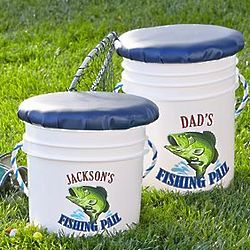Junior Personalized Fishing Pail