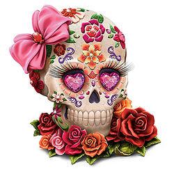 Lady Amora Sugar Skull Art Figurine