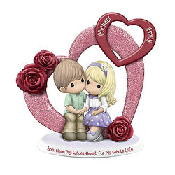 You Have My Whole Heart Personalized Precious Moments Figurine