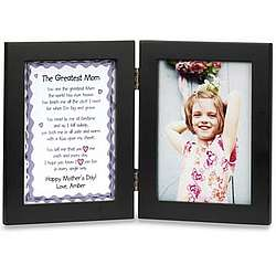 The Greatest Mom Bi-fold Print and Frame