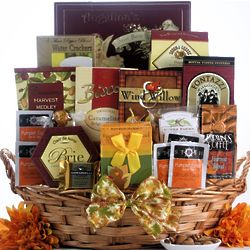 Plentiful Gourmet Wishes Thanksgiving Gift Basket