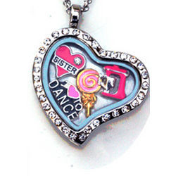 Personalized Charm Locket for Girls