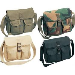 Canvas Ammo Shoulder Bag