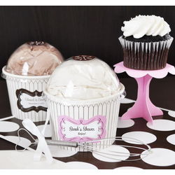 Personalized Cupcake Mix Favors