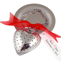 My Sweet Sugar Cube Heart Tea Infuser Favor