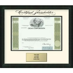 CIGNA Corporation Stock Certificate