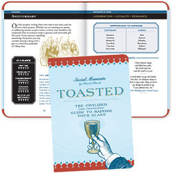 Toasted Guide to Raising Your Glass Book