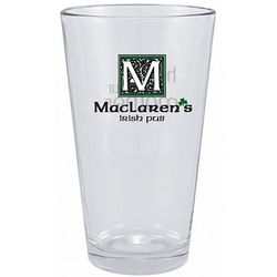 MacLaren's Irish Pub Pint Glass