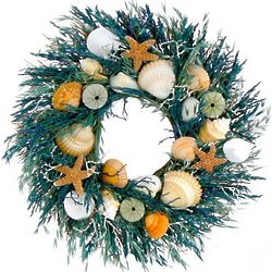 "Del Mar Shell 18"" Wreath"