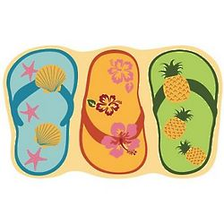 Summer Shoes Coir Mat