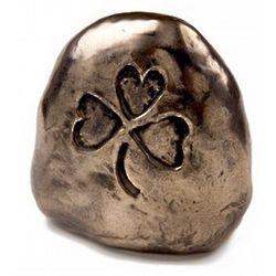 Bronze Symbols of Faith Shamrock