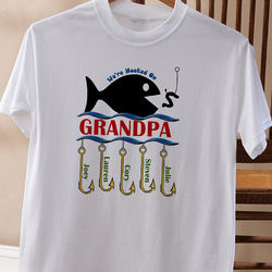 Hooked On You Personalized Adult T-Shirt