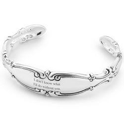 Spoon Cuff Bracelet