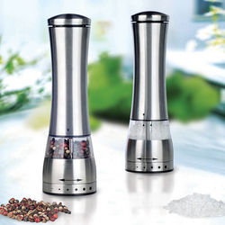 Electronic BBQ Lighted Salt and Pepper Grinder