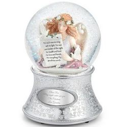 Angel of Gratitude Snow Globe
