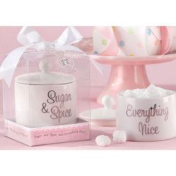 Sugar and Spice Sugar Bowl Favor