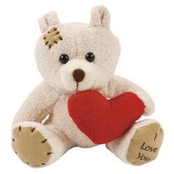 Plush Bears with Heart