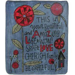Beautiful Life Design Blanket