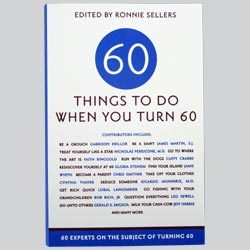 60 Things To Do When You Turn 60 Book