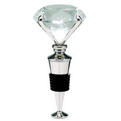Diamond Bottle Stopper