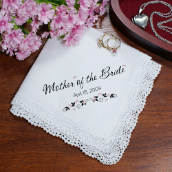 Personalized Wedding Ladies Handkerchief