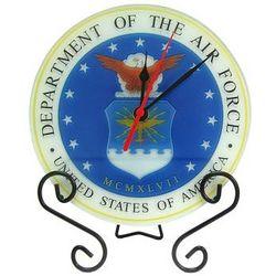 US Air Force Glass Clock