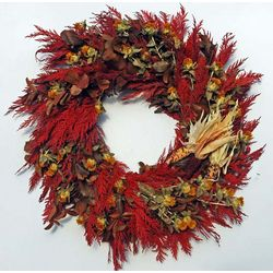 Thanksgiving Indian Corn Wreath