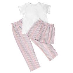 3 Piece Cotton Pajama Set