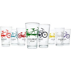 Tandem Bike Personalized Tumblers