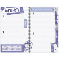 Life's Journeys Desk Undated Weekly Planner