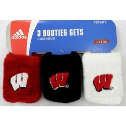 University of Wisconsin Baby Booties