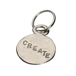 Create Imagine Key Ring