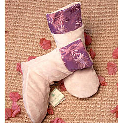 Vanilla Orchid Scented Violet Spa Foot Booties