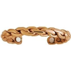 Copper Chain Men's Cuff Bracelet