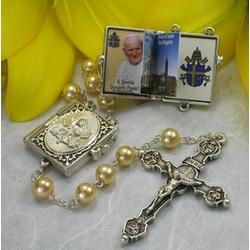 Pope John Paul II Vatican Pearl Rosary