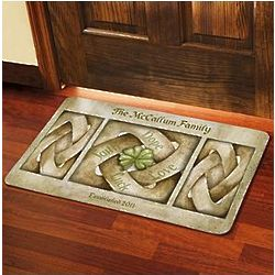 Large Personalized Celtic Knot Doormat