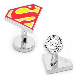 Superman Cuff Links