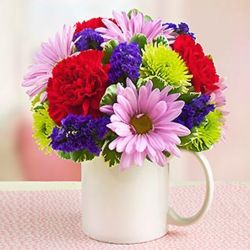 Mugable to Say I Love You Floral Bouquet