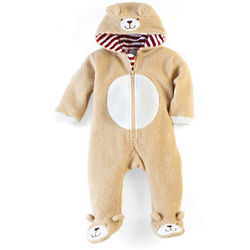 Bear One Piece Baby Outfit