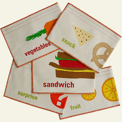 Reusable Organic Sandwich and Snack Bags