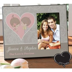 Personalized Precious Moments Frame for Couples