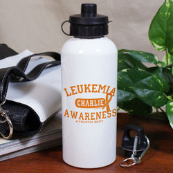 Leukemia Awareness Athletic Dept. Water Bottle