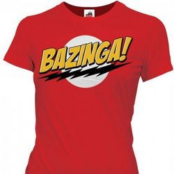 Big Bang Theory Bazinga Women's T-Shirt